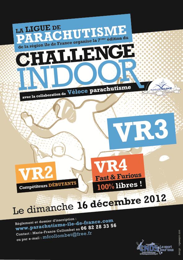 Challenge Indoor VR Ile-de-France 2012